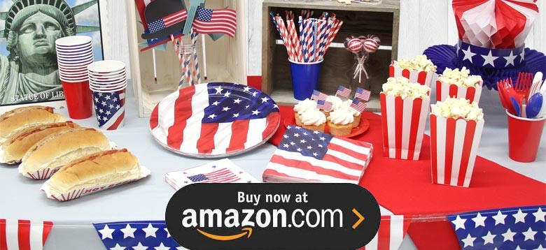 Patriotic Stars Party Supplies