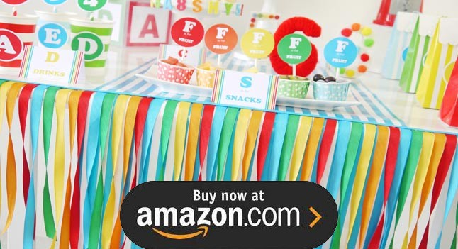 A Is For Alphabet Party Supplies