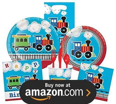 Choo Choo Train Party Supplies