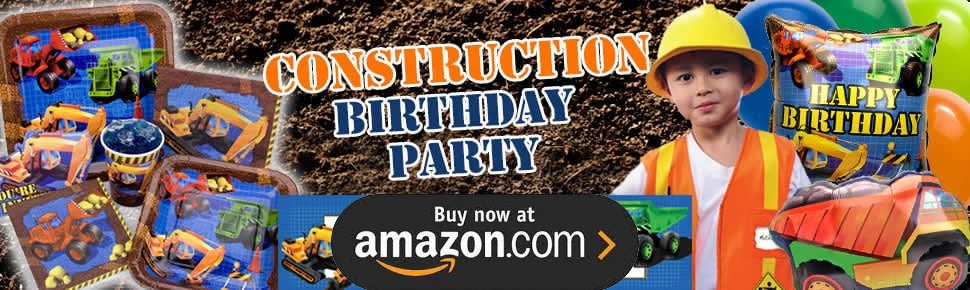Construction Pals Party Supplies