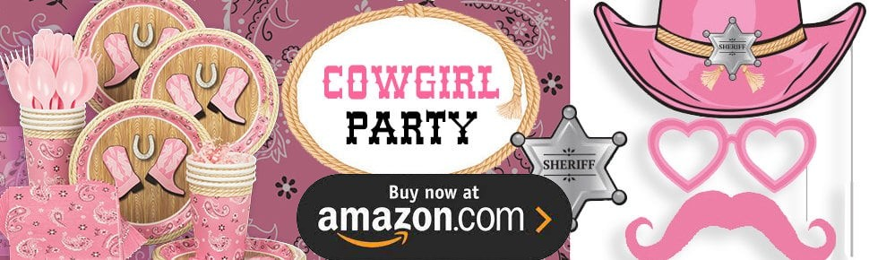 Cowgirl Party Supplies
