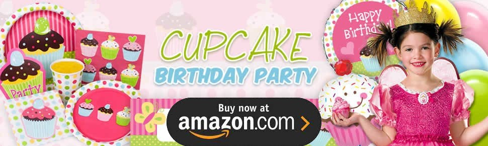 Cupcakes and Candy Party Supplies