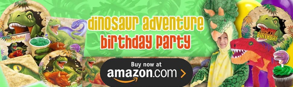Dinosaur Adventure Party Supplies