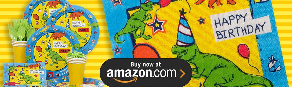 Dinosaur Fun Party Supplies
