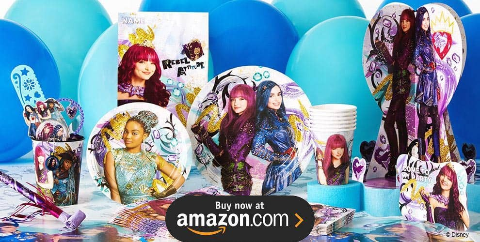 Disney Descendants 2 Party Supplies
