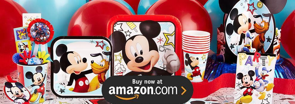 Disney Mickey On The Go Party Supplies