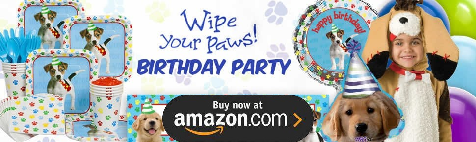 Dog Party Supplies