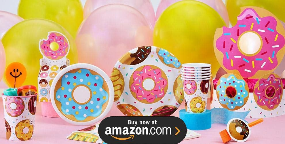 Donut Time Party Supplies