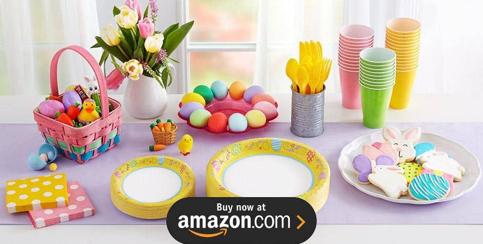 Easter Spring Party Supplies