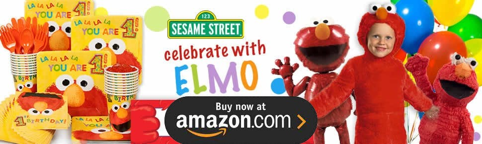 Elmo Turns One Party Supplies