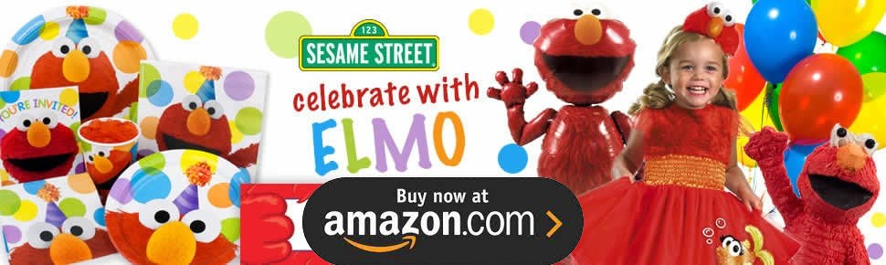 Sesame Street Elmo Party Supplies