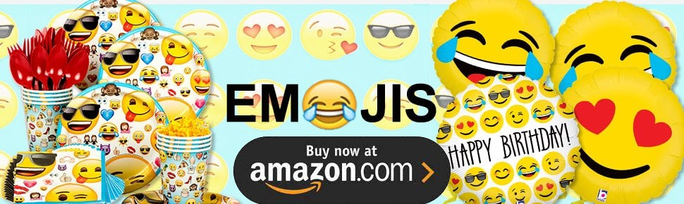 Emoji Selfie Party Supplies