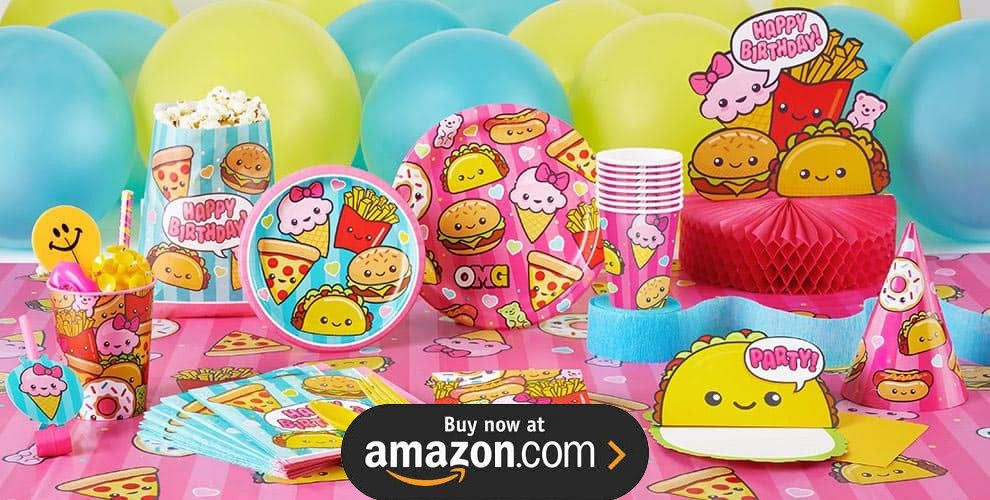 Junk Food Fun Foodie Party Supplies