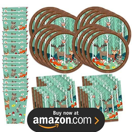 Forest Friends Party Supplies
