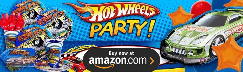 Hot Wheels Wild Racer Party Supplies