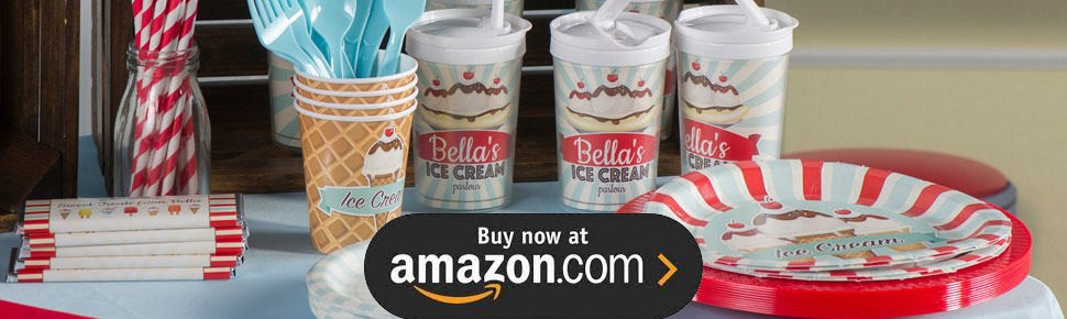 Ice Cream Parlor Party Supplies