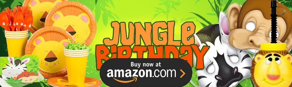 Jungle Party Supplies