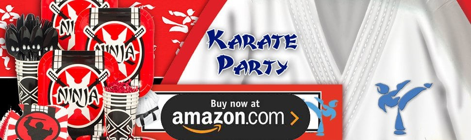 Karate Party Supplies