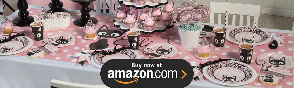Kitty Cat Diva Party Supplies