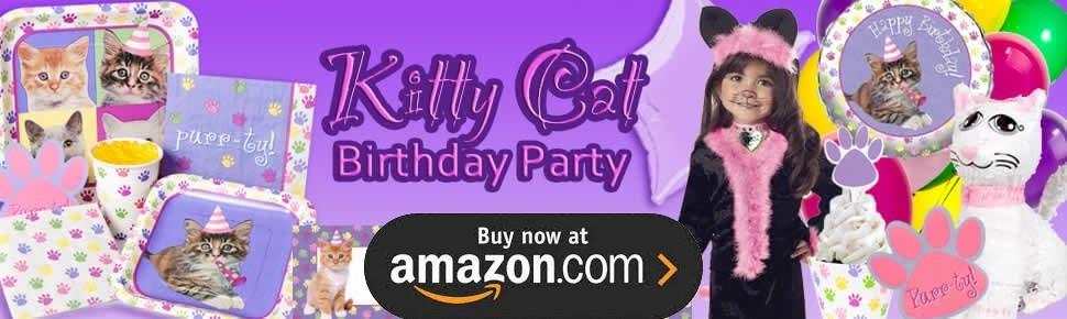Kitty Cat Kitten Party Supplies