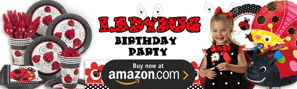 Ladybug Oh So Sweet Personalized Party Supplies