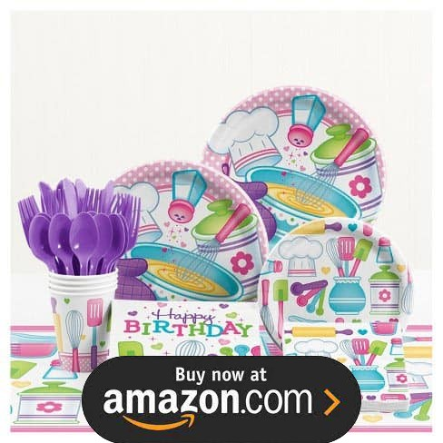 Little Chef Party Supplies