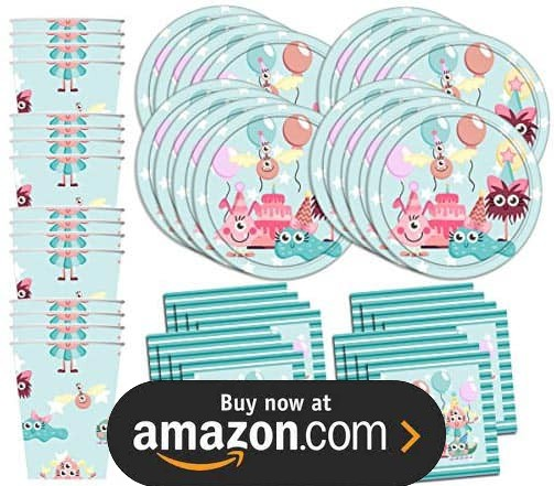 Mighty Monster Girl Party Supplies