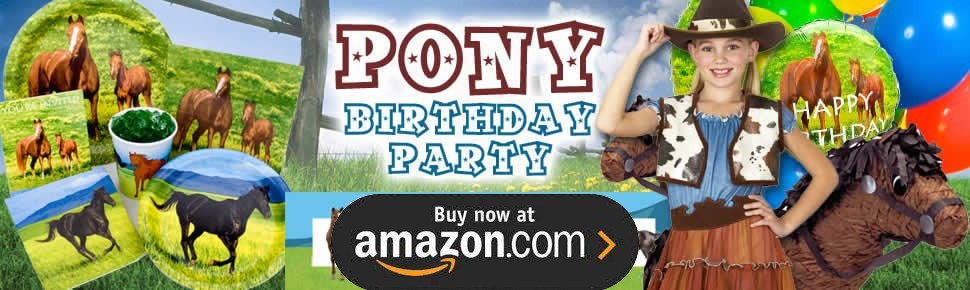 Ponies Party Supplies