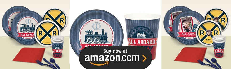Rustic Railroad Party Supplies