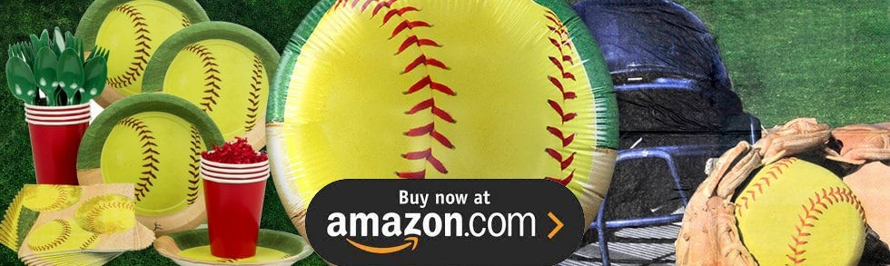 Softball Party Supplies