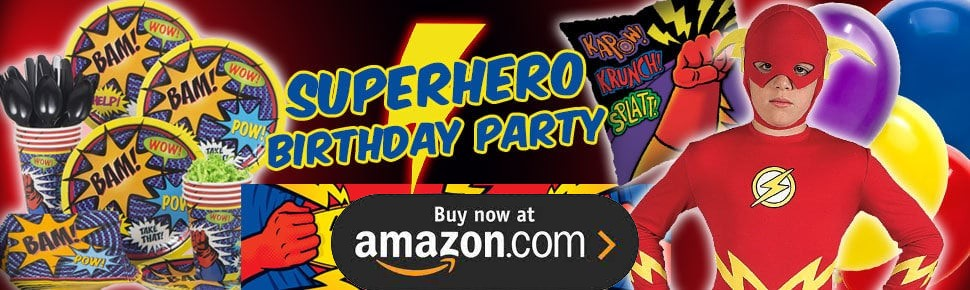 Comic Book Hero Party Supplies