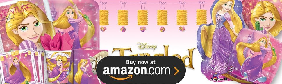 Tangled Party Supplies
