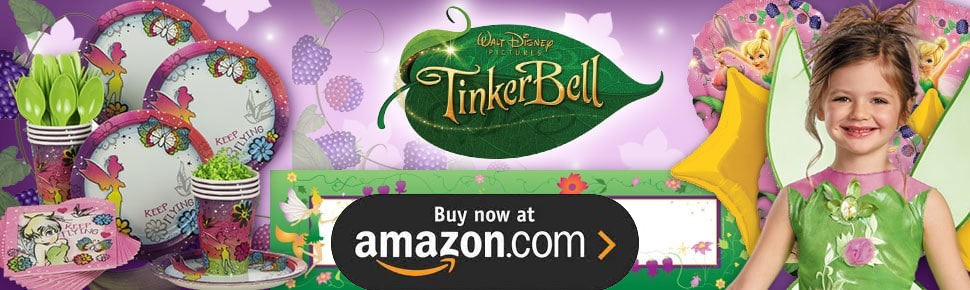 Disney Tinker Bell Party Supplies