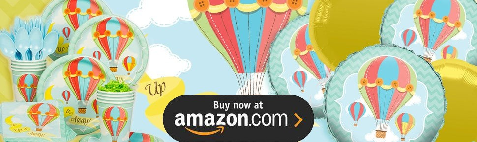 Hot Air Balloon Party 1st Birthday Party Supplies